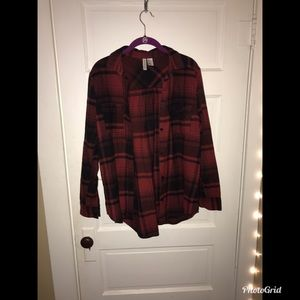 Tops - Red flannel